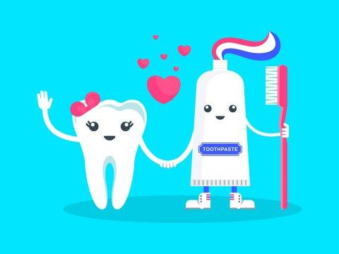 Зубная паста на страже здоровья зубов и десен.